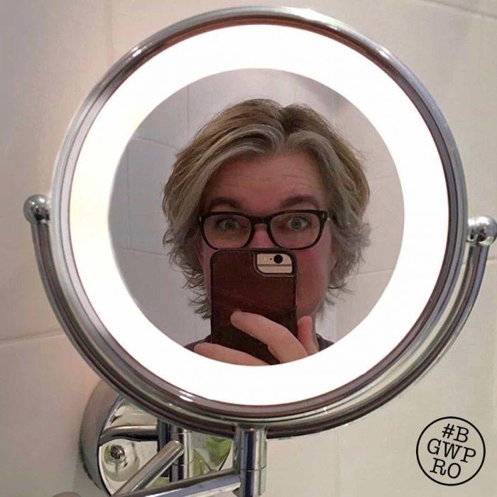 De Make-up Spiegel. Mét Licht!