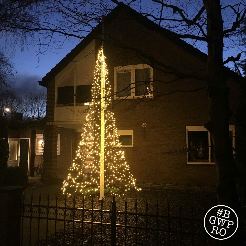 Kerstboom Geweld In De Tuin