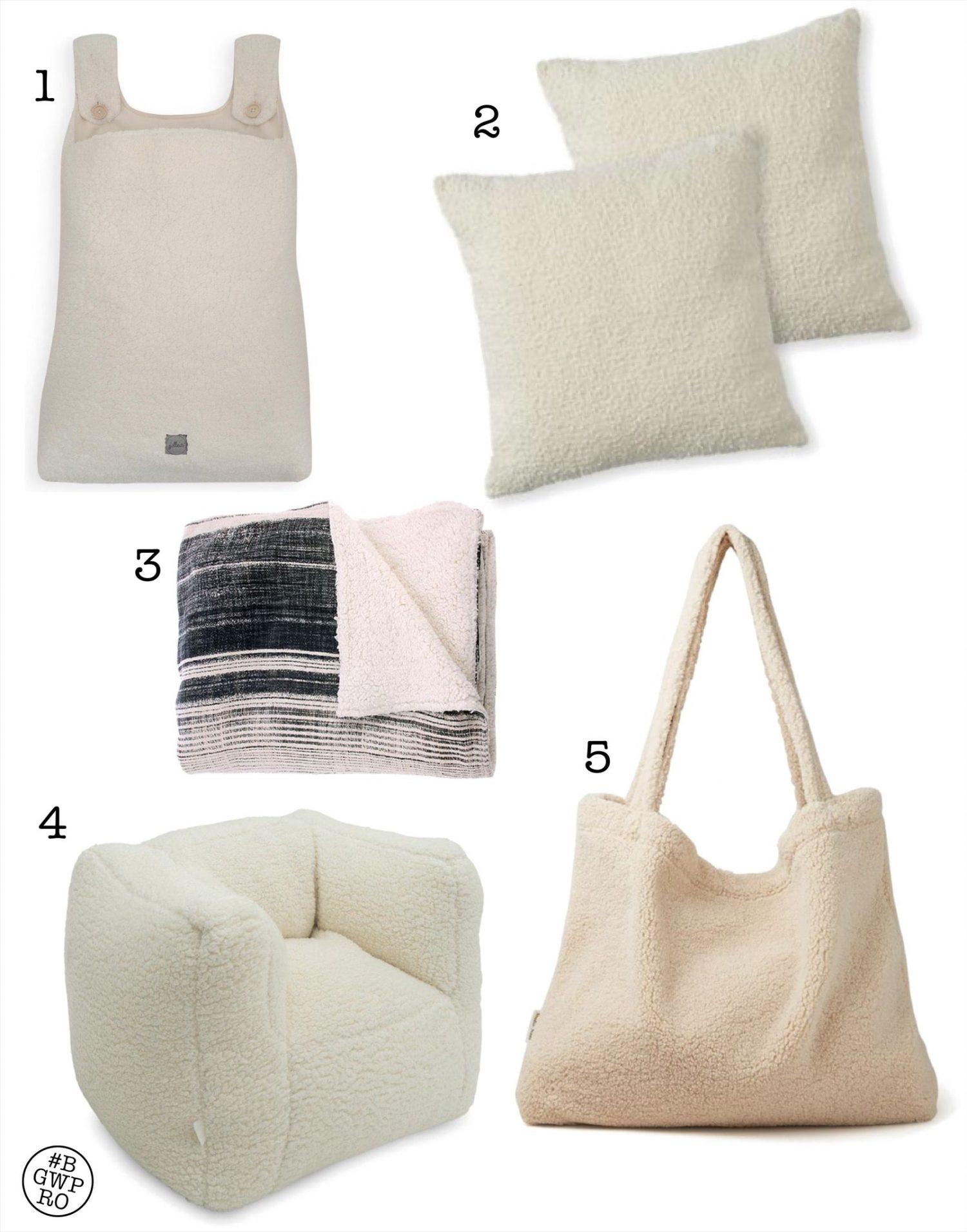 De leukste accessoires met teddy stof woontrend winter 2020/21
