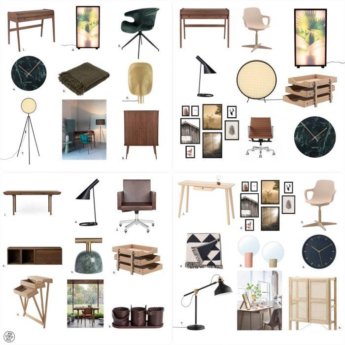 Shoplijst Voor Drie Compacte Thuiswerkplekken Voor In De Woonkamer