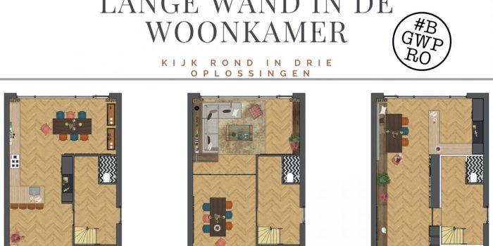 Drie Oplossingen Voor Een Lange Wand In De Woonkamer Berber Govaars Woonproducties